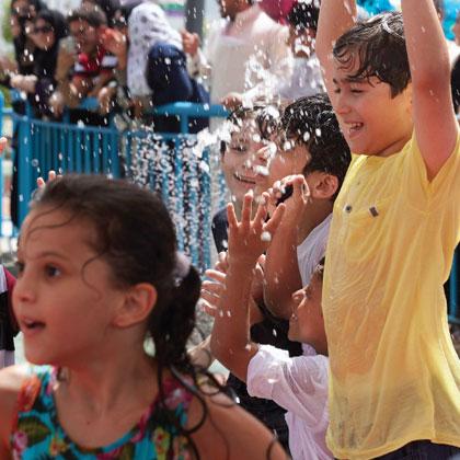 Splash Pad - attractions