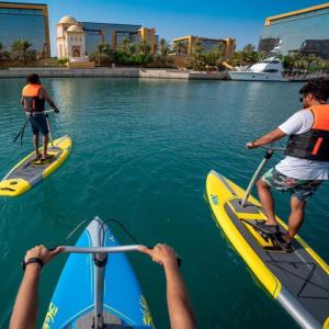 Water Bike Ride - attractions
